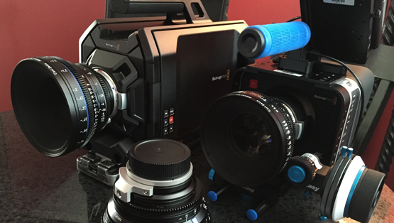 This season we're now filming in 4K! Here are some of our new Blackmagic cameras are using.